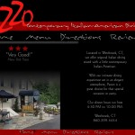 Website Design for Pazzo Italian-American Restaurant