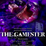 "Poster Design for Eckerd College's Production of ""The Gamester"""